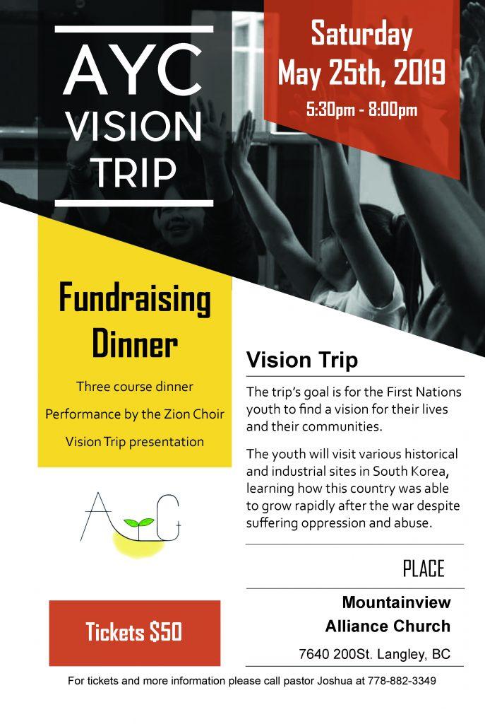 Vision Trip Fundraiser